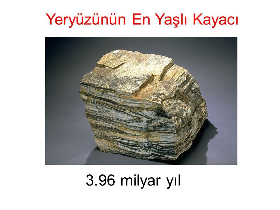 Yeryüzünün En Yaşlı Kayacı 3.96 milyar yıl