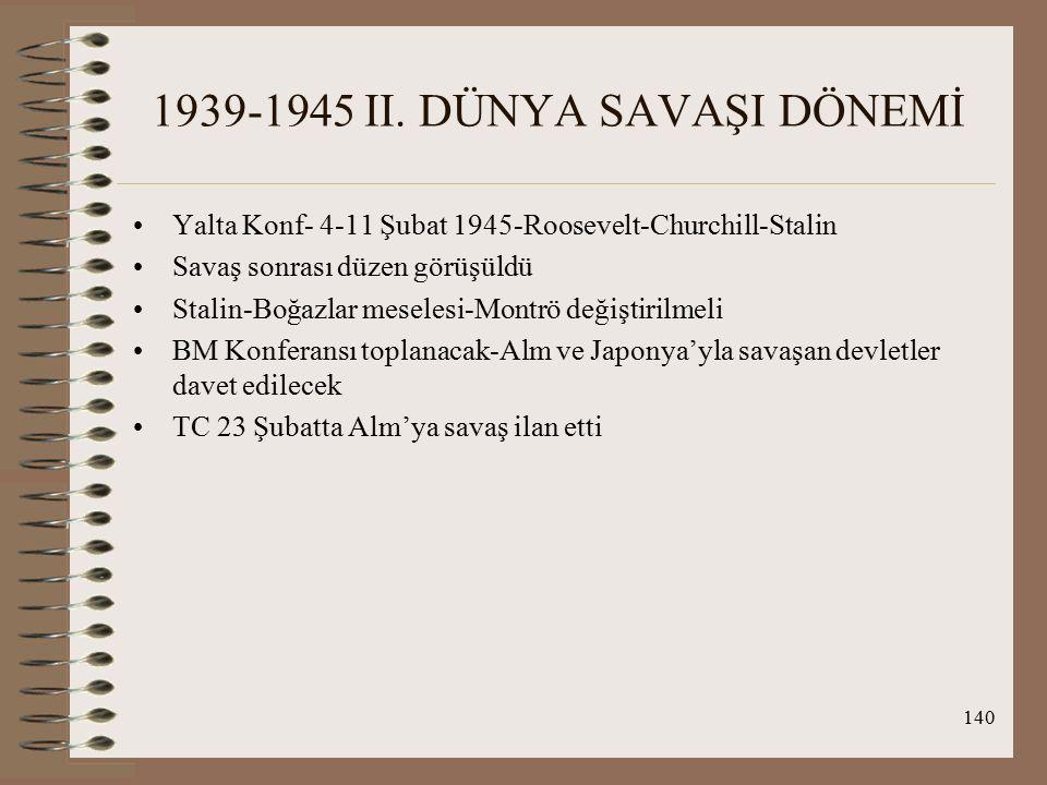 141 1939-1945 II.DÜNYA SAVAŞI DÖNEMİ SSCB-FR'da 2.