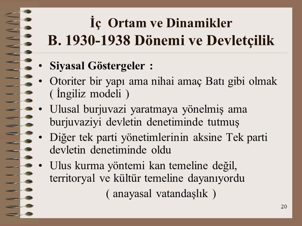 21 Dönemin Dış Politikası Atatürk'ün Dış Politikası Üzerine Tartışma Türk Devrimi Üçüncü Dünyacı mıdır/ Batıcı mıdır .