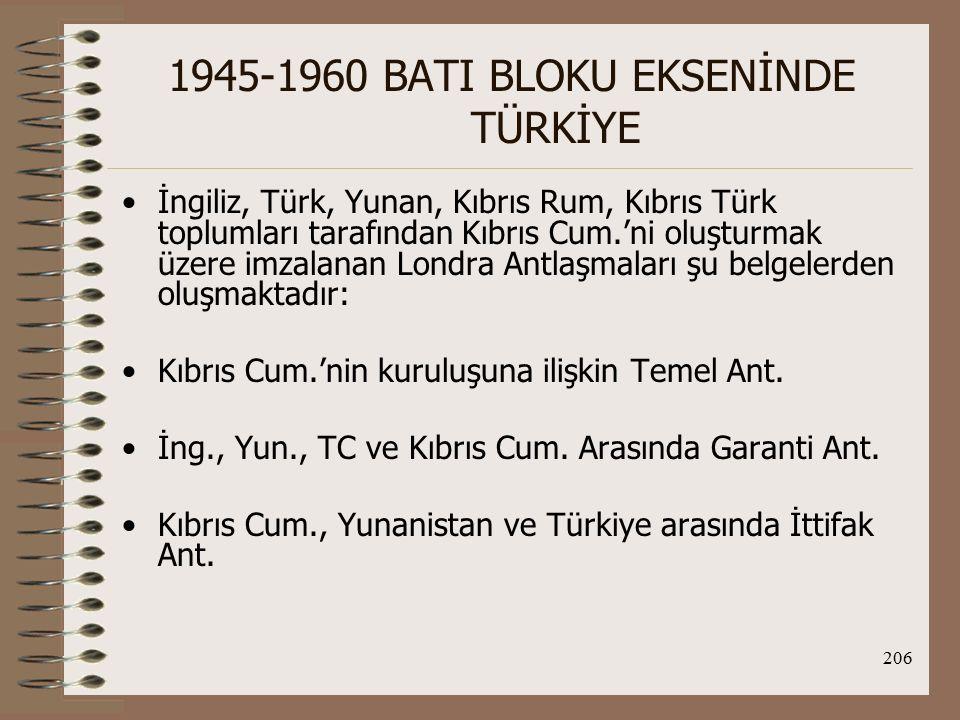 207 1945-1960 BATI BLOKU EKSENİNDE TÜRKİYE İng.