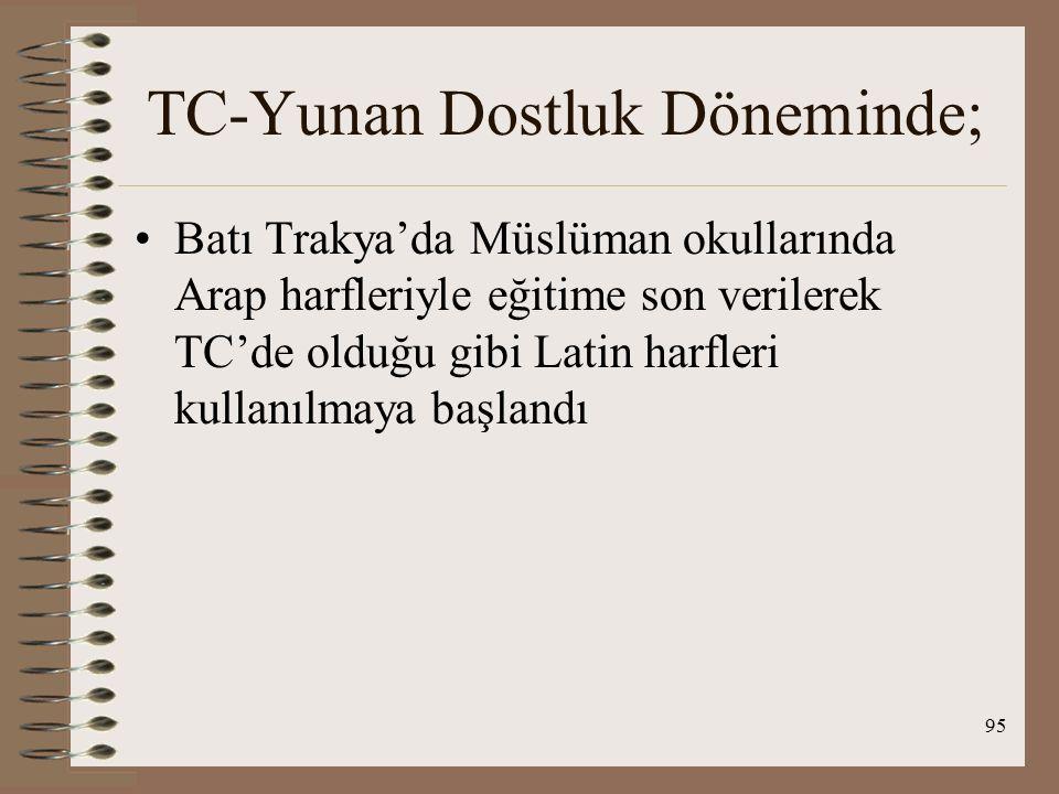 96 Ortadoğu İle İlişkiler İRAN TC-İran ilişkilerinde 2 önemli konu: İran-TC rejimlerinin benzerliği ve sınır sorunu İran da TC'nin rejimine geçiş sürecini başlatmıştır( Savunma Bakanı Rıza Han ) Amaç : Batılı kurum ve normlarıyla modern ve tam bağımsız bir ulus-devlet yaratmak TC İran tarafından model alınıyor TC'de halifeliğin kaldırılması İran'da cumhuriyet ilan edilmesini engellemiştir