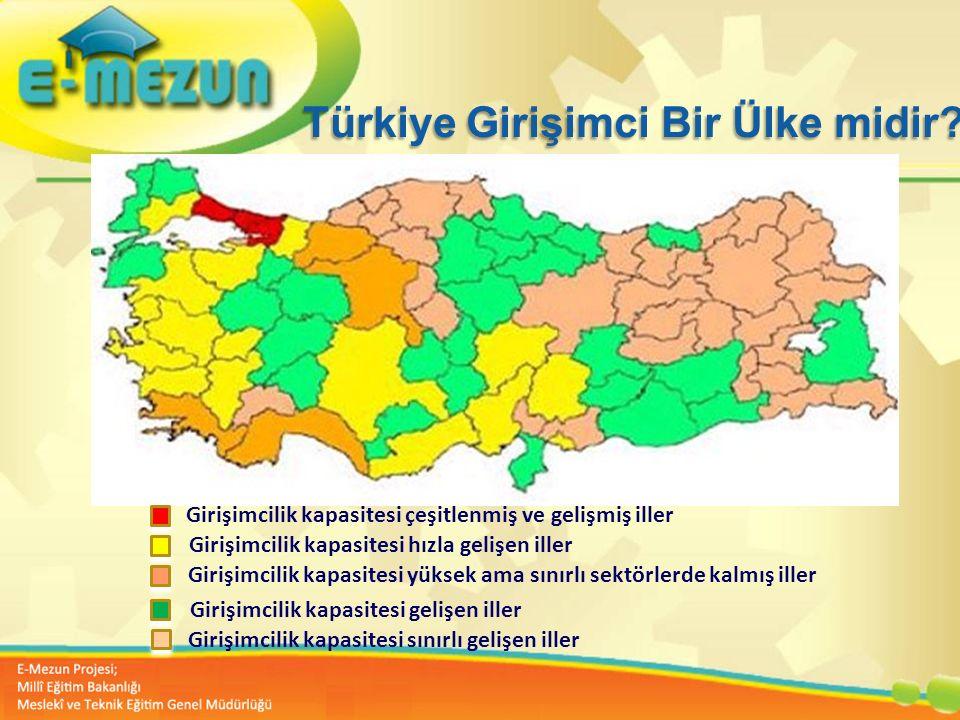 Faal 2.7 100 Genç Girişimcilik Eğitimi 1. MODÜL Girişimcilik Bana Göre mi ? Türkiye Girişimci Bir Ülke midir? Girişimcilik kapasitesi çeşitlenmiş ve g