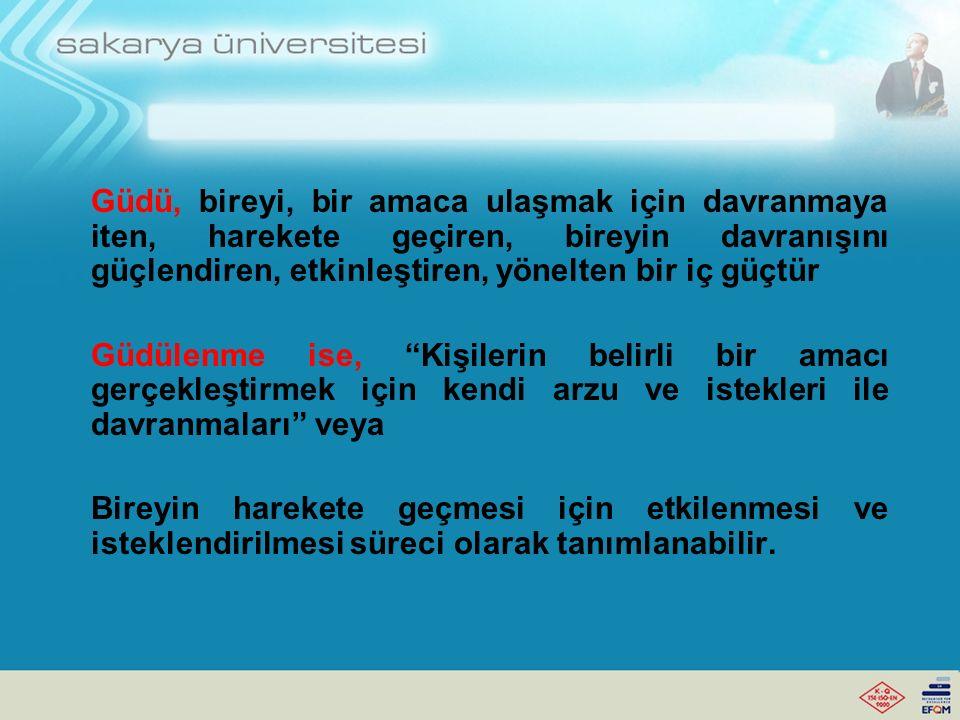 295 SINIFTA ÖĞRENCİYİ GÜDÜLEME