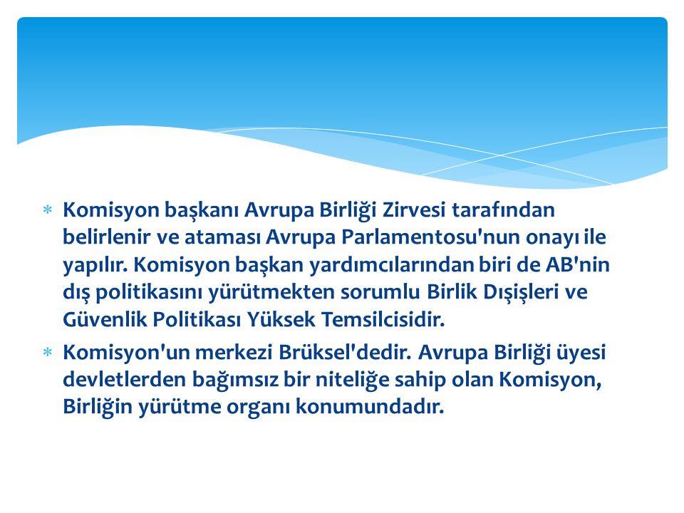  Konsey, ( Bakanlar Konseyi ya da AB Konseyi ) Avrupa Birliği üyesi devletlerin hükümetlerinde görev yapan bakanlardan oluşan bir organ konumundadır.
