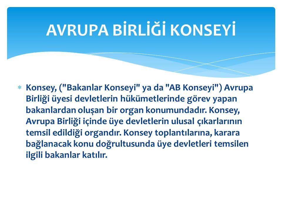  Konsey, (