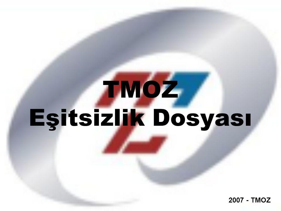TMOZ Eşitsizlik Dosyası 2007 - TMOZ