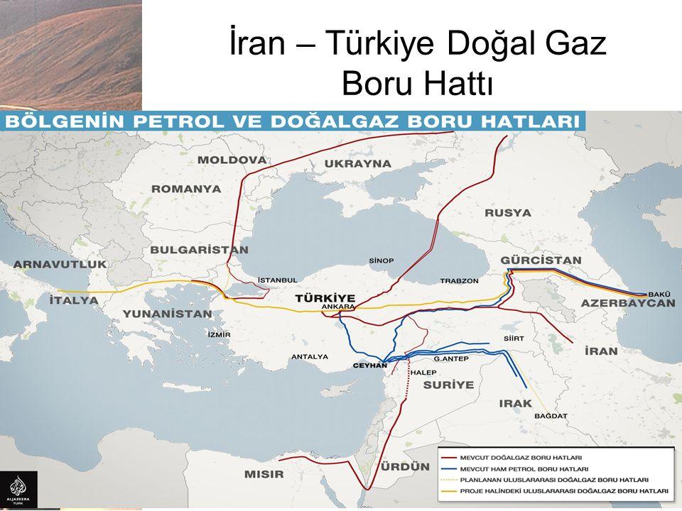 İran – Türkiye Doğal Gaz Boru Hattı