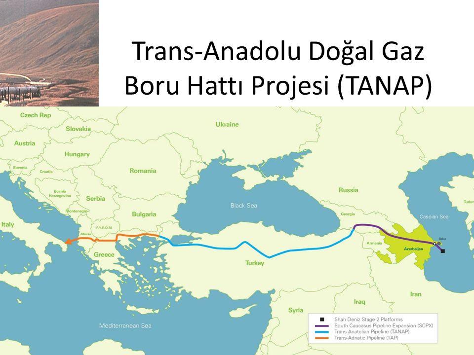 Trans-Anadolu Doğal Gaz Boru Hattı Projesi (TANAP)