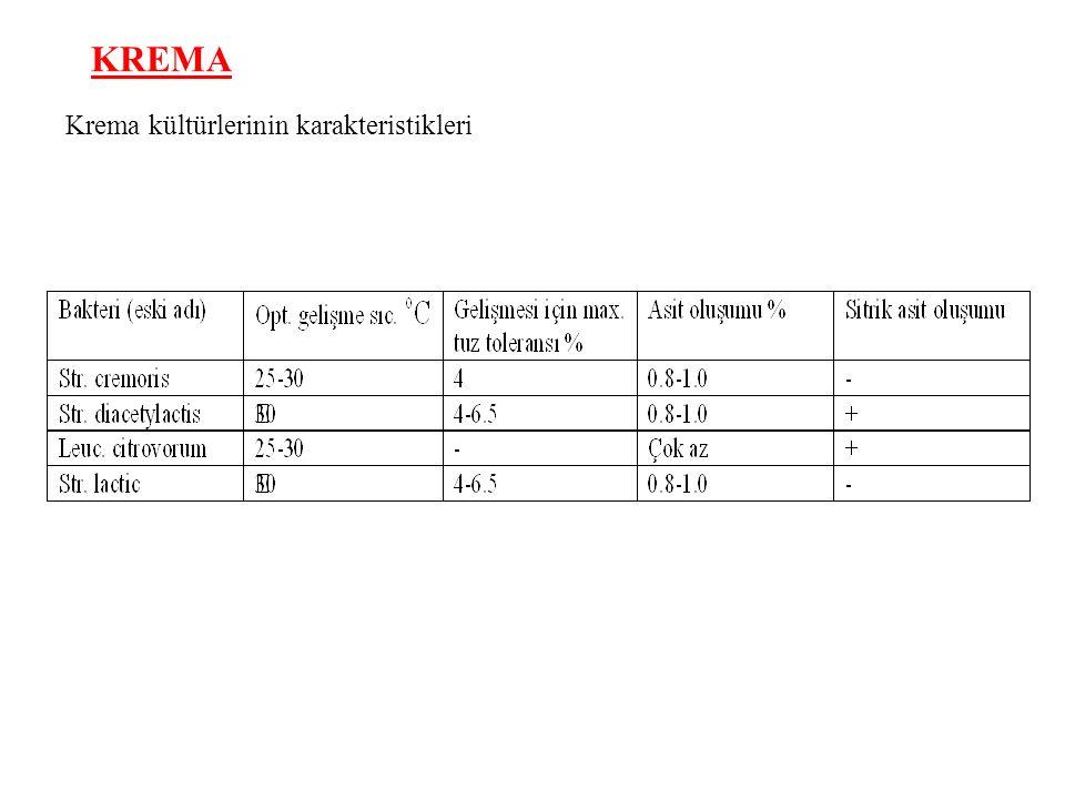 KREMA Krema kültürlerinin karakteristikleri