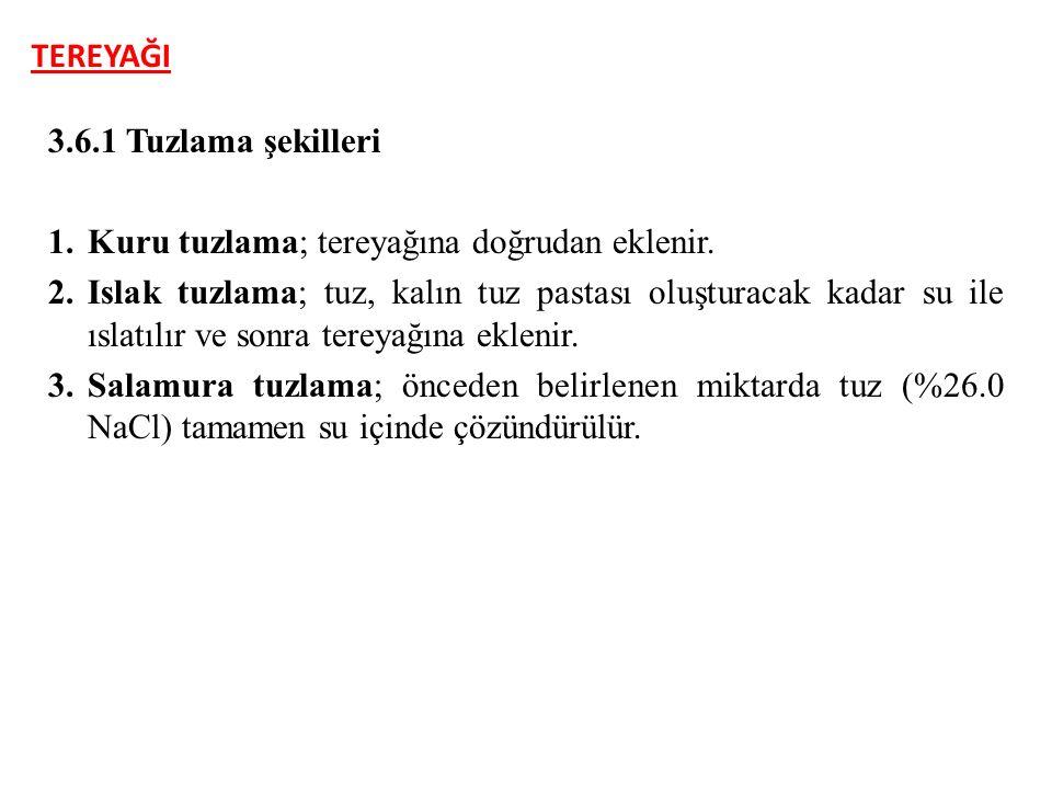 TEREYAĞI 4.