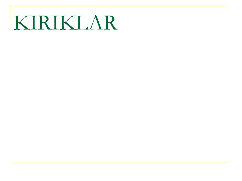 2- Avasküler Nekroz: