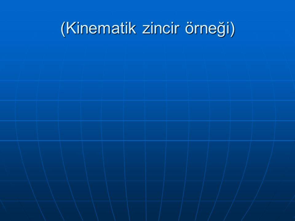 (Kinematik zincir örneği)
