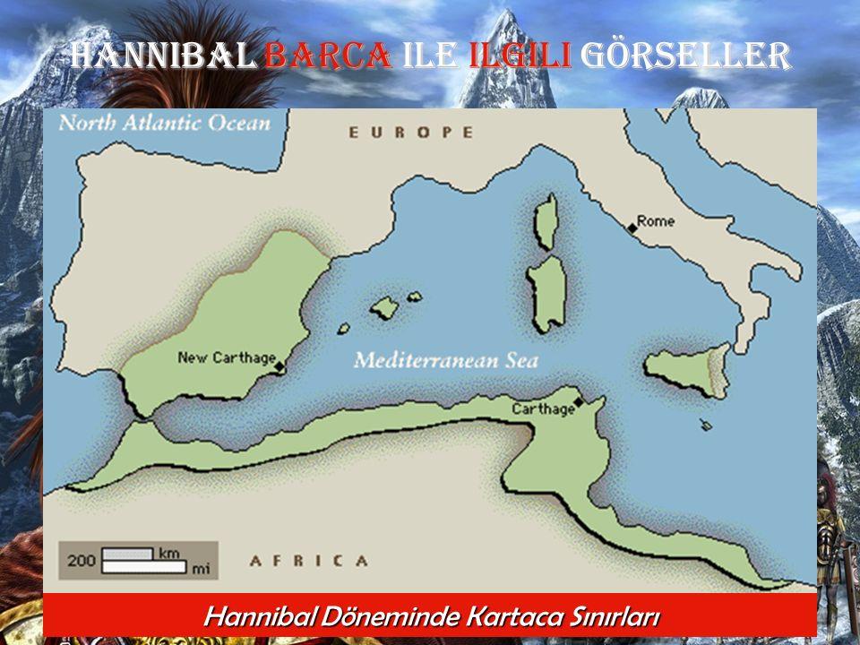 Hannibal Barca Ile ilgili GÖRSELLER Hannibal Döneminde Kartaca Sınırları