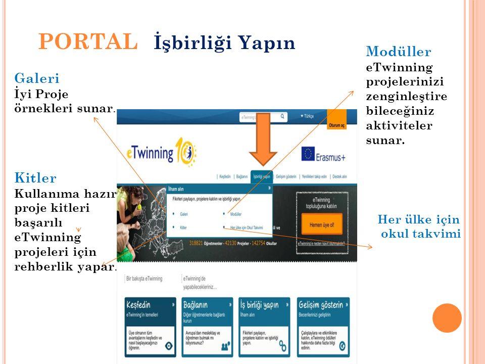 PORTAL Gelişim Gösterin Mesleki Gelişim Atölye Çalışmaları Avrupa da öğretmenlerin gelişimlerine yönelik çalıştaylara bakabilirsiniz.