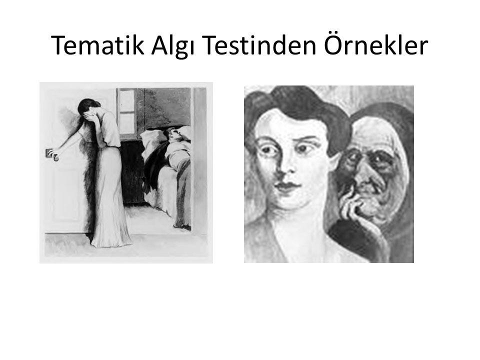 Tematik Algı Testinden Örnekler