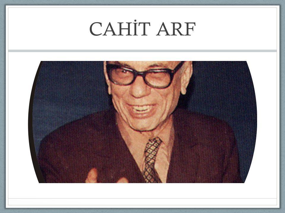CAH İ T ARF