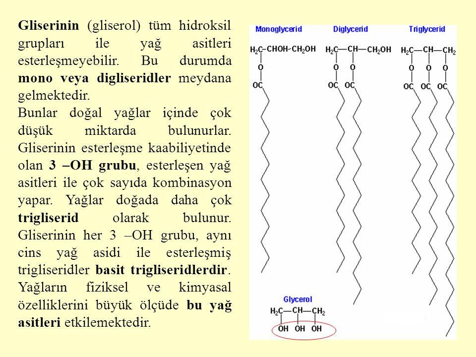 10 Lipidlerin ortak özellikleri Lipidler, biyolojik kaynaklı organik bileşiklerdir.