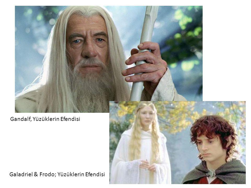 Galadriel & Frodo; Yüzüklerin Efendisi Gandalf, Yüzüklerin Efendisi