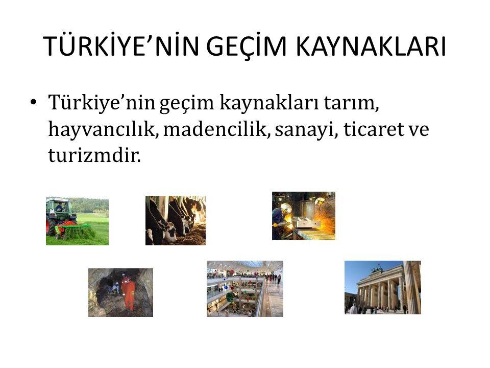 TÜRKİYE'DE İKLİM Türkiye'nin üç tarafının denizlerle çevrili olması, dağların konumu ve yeryüzü şekillerinin çeşitlilik göstermesi, farklı özellikte i