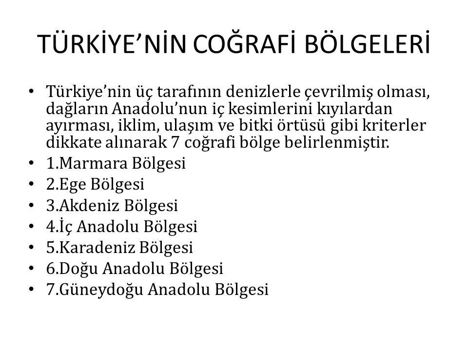 TÜRKİYE'DE İDARİ BÖLÜMLER Merkezi idare kuruluşu bakımından illere, iller ilçelere, ilçeler ise köylere ayrılmıştır.Türkiye'de 81 il bulunmaktadır.