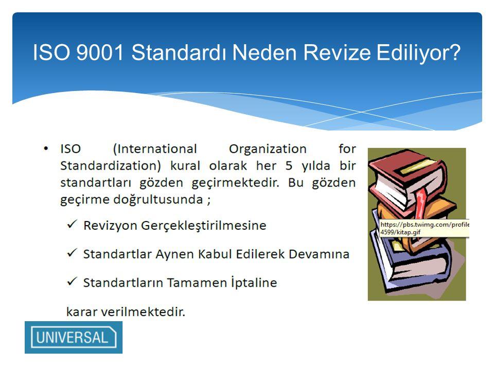ISO 9001 Standardı Neden Revize Ediliyor?