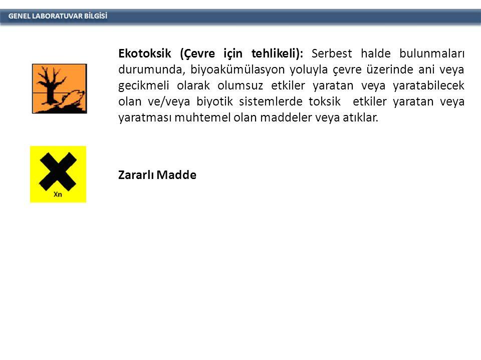 GENEL LABORATUVAR BİLGİSİ 3.