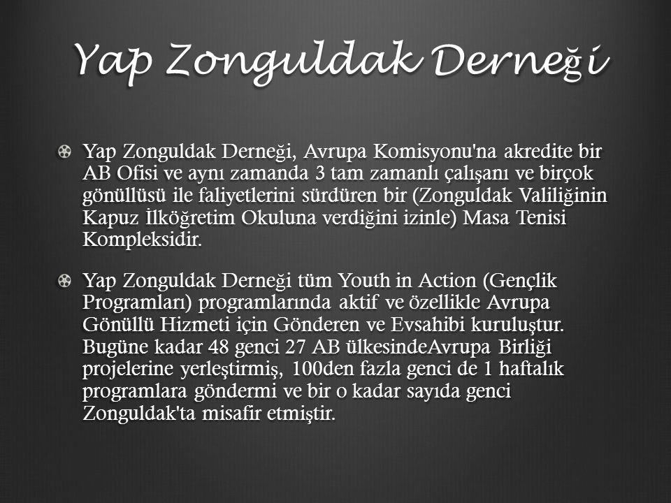 Ya ğ murlu Ş ehir Zonguldak ta 2009 yılında kurulan bu ofis, o yıldan bu yana farklı kültürden gelen gençleri bir araya getirerek kültürel farkındalı ğ ı ve anlayı ş ı arttırarak kültürlerarası bariyerleri kırmayı hedeflemektedir.