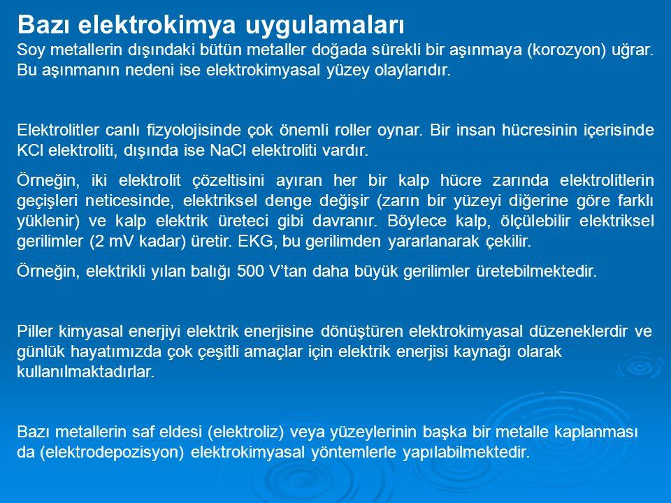 Difüzyon: Difüzyon elektroanalitik ölçümlerin her tipinde etkili bir faktördür.