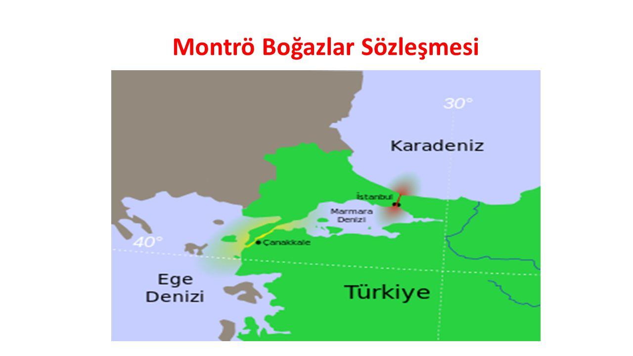Montrö Boğazlar Sözleşmesi, Türk Boğazlarından (Çanakkale ve İstanbul) geçiş rejimini ve boğazlar bölgesinin güvenliği işlerini düzenleyen sözleşmedir.