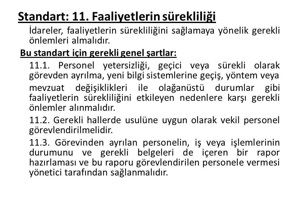 Standart: 11.
