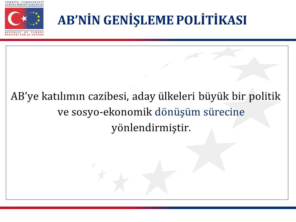 Türkiye'nin AB'ye üyeliği hem AB için hem de ülkemiz için büyük fırsatlar sunmaktadır.