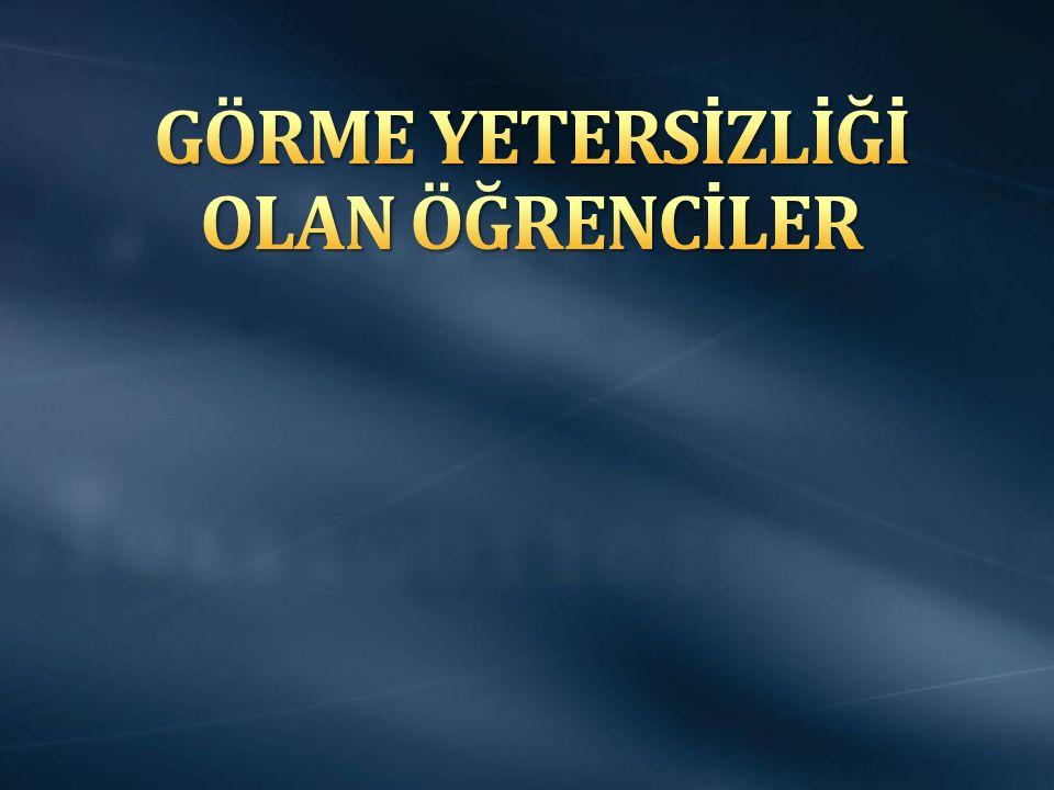 Altı Nokta Körler Derneği Türkiye Beyazay Derneği Uygar Görme Engelliler Derneği Aktif Görme Engelliler Derneği Sesli Betimleme Derneği Türkiye Görme Özürlüler Kitaplığı
