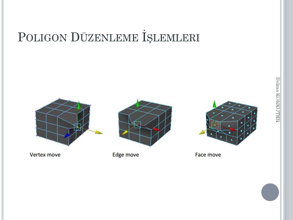 P OLIGON D ÜZENLEME İ ŞLEMLERI Belma KORKUTER