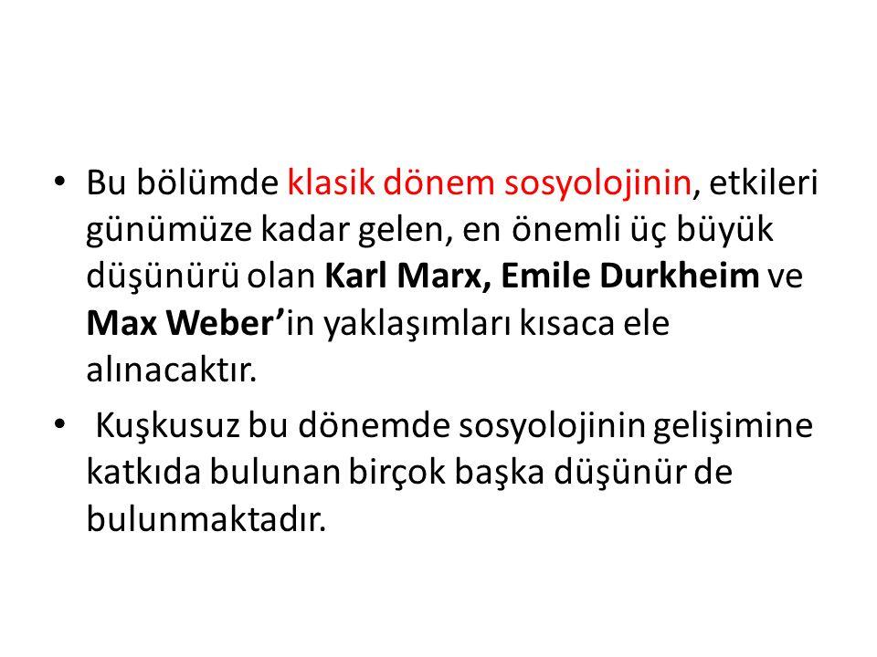 Weber en çok akılcı eylem ve bunun üzerinde temellenen yasal-ussal otorite ve örgüt tipi ile ilgilenir.