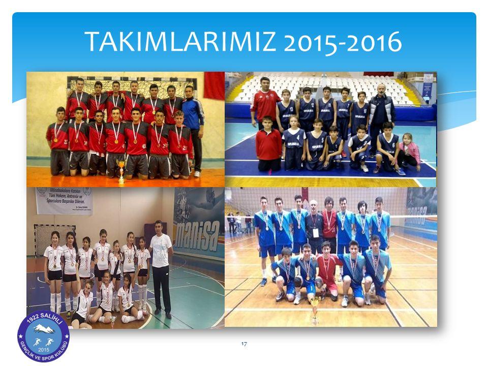 TAKIMLARIMIZ 2015-2016 17