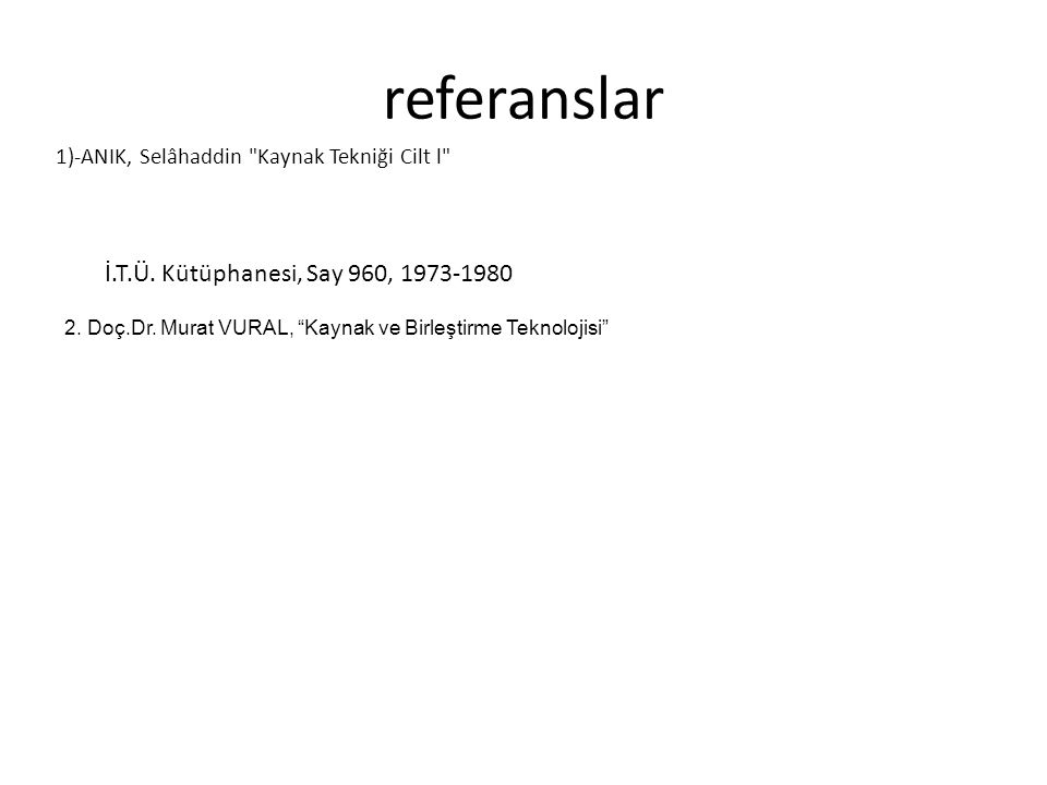 referanslar 1)-ANIK, Selâhaddin