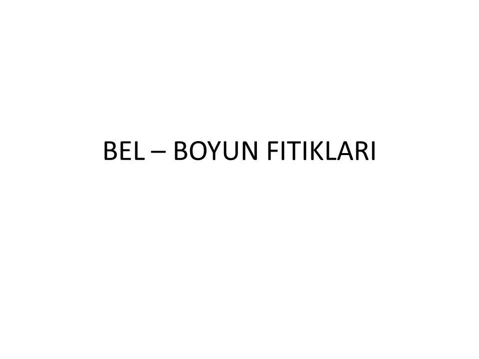 BEL – BOYUN FITIKLARI