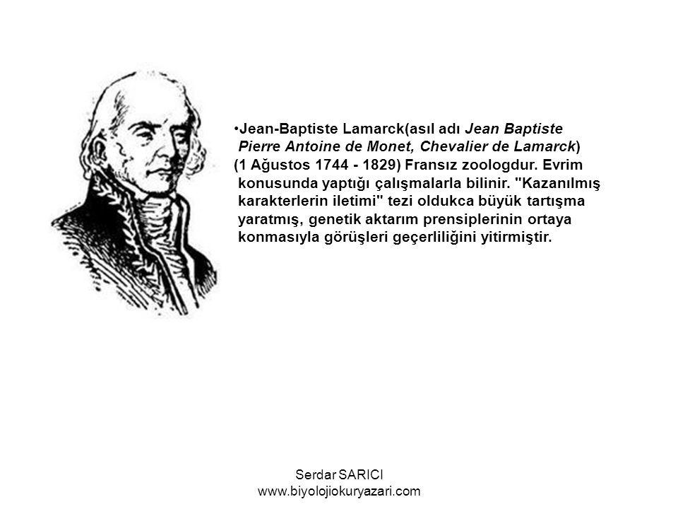 Georges Cuvier (1769-1832) aşırı ve haksız biçimde lamarckı eleştirdi.