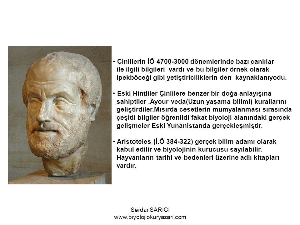 Teofrastos (MÖ371) botaniğin babası olarak adlandırılabilir.