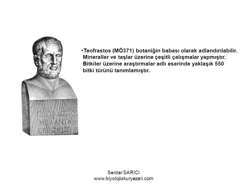 Eskiçağın son biyoloji bilgini Galen (MS 130)Romada hekimlik ve cerahlık yapmıştır.