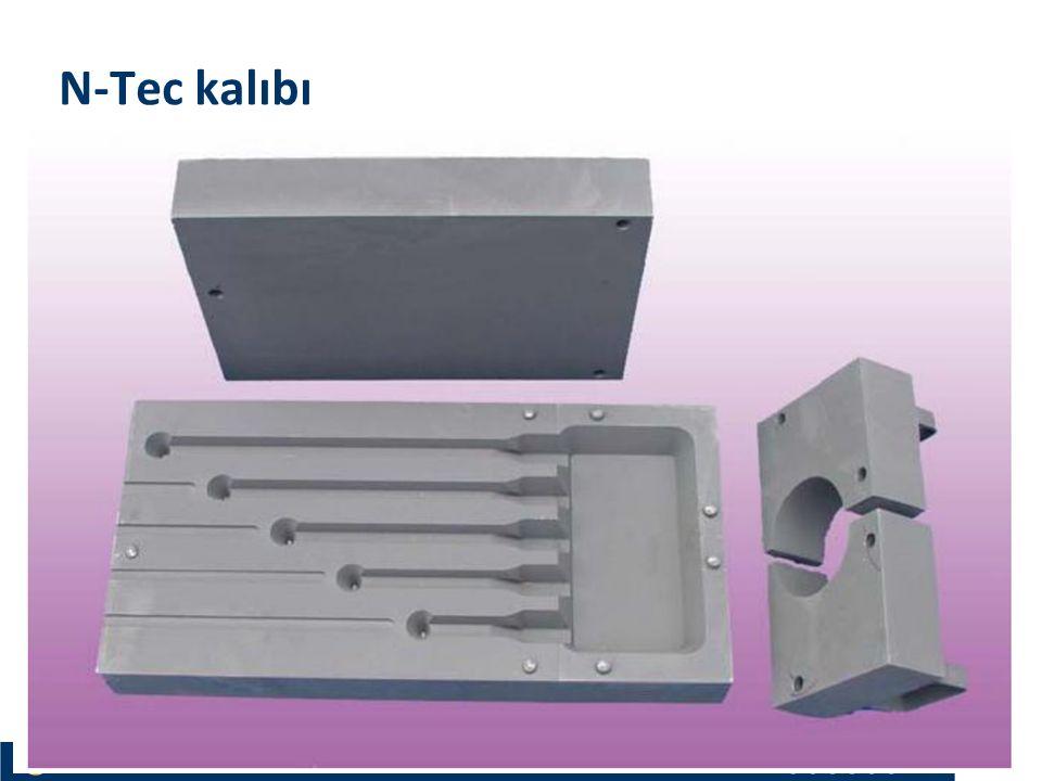 Materials and Chemistry İstanbul Üniversitesi Metalurji ve Malzeme Mühendisliği İstanbul Üniversitesi Metalurji ve Malzeme Mühendisliği N-Tec kalıbı