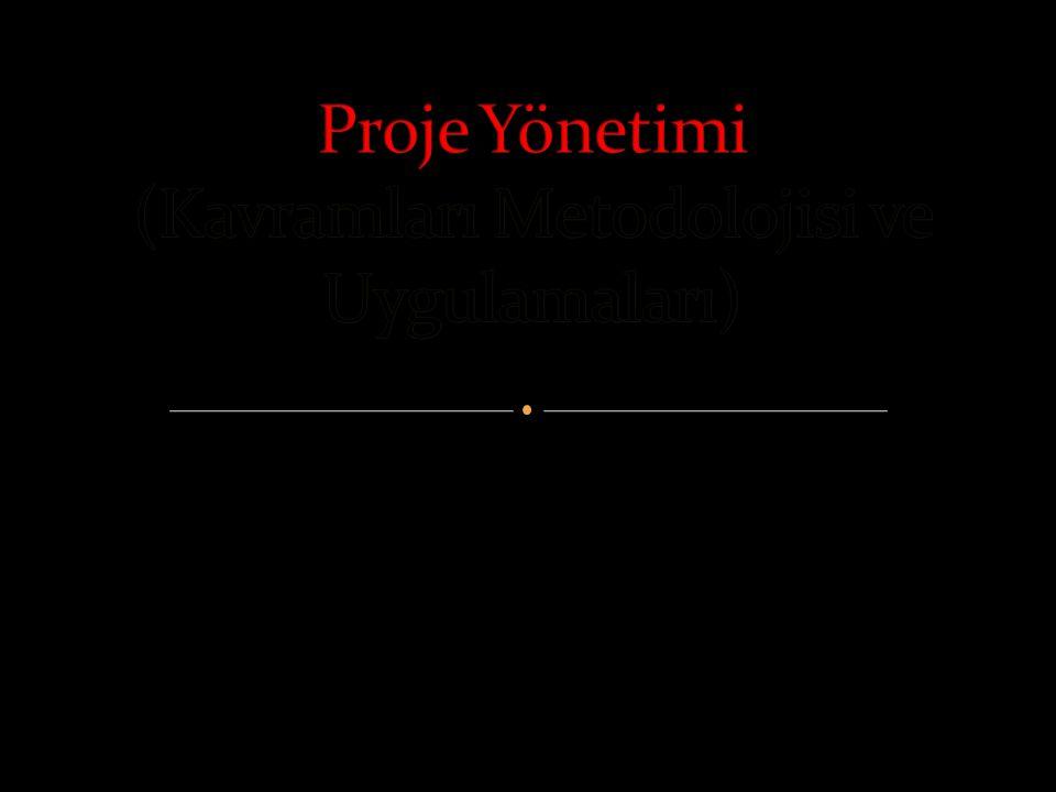 Yrd. Doç. Dr. Ali Arslan Gökrem TEKİR'in Proje Yönetimi Kitabından…