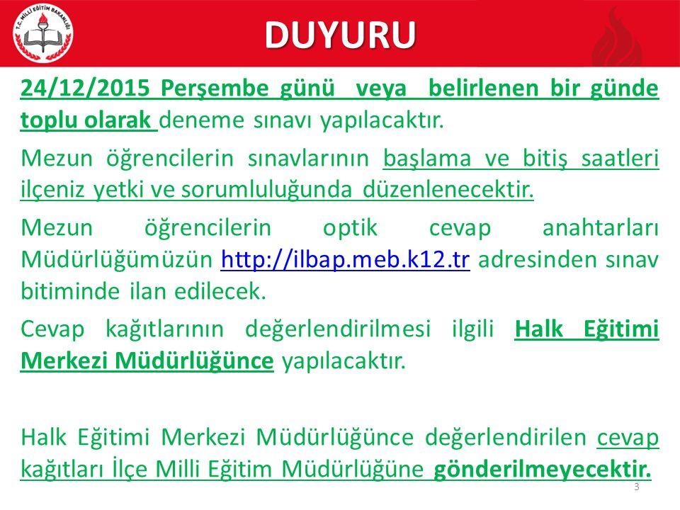 5.KURSLARA ÖĞRENCİ/KURSİYER BAŞVURULARI 5.3.