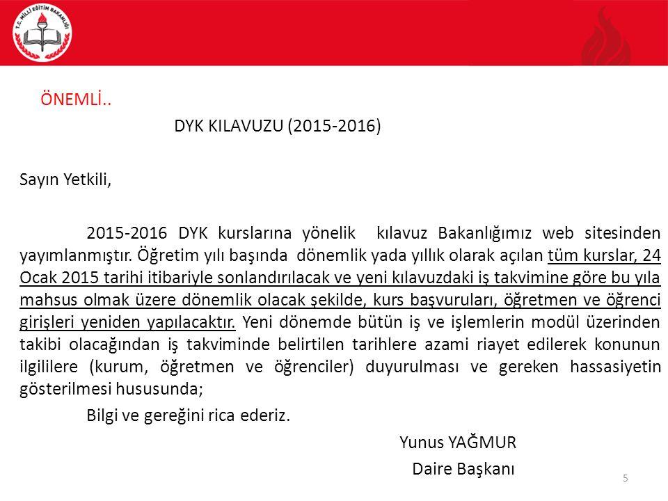 5.KURSLARA ÖĞRENCİ/KURSİYER BAŞVURULARI 5.7.