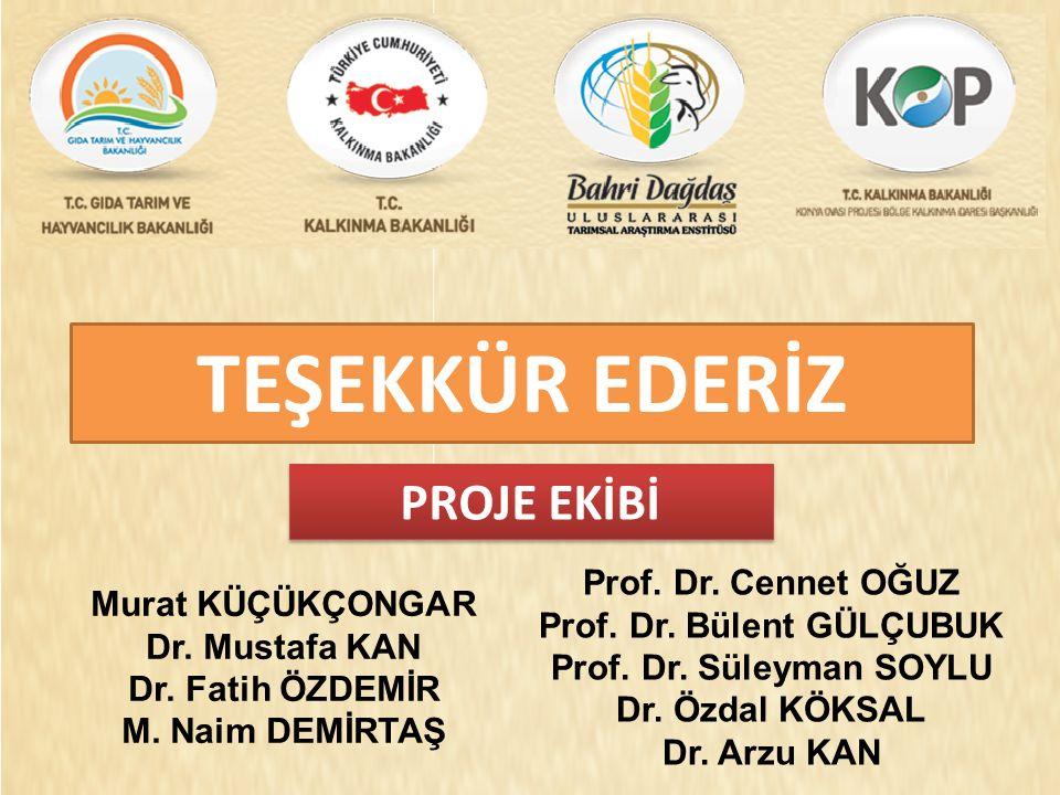 TEŞEKKÜR EDERİZ Prof. Dr. Cennet OĞUZ Prof. Dr.