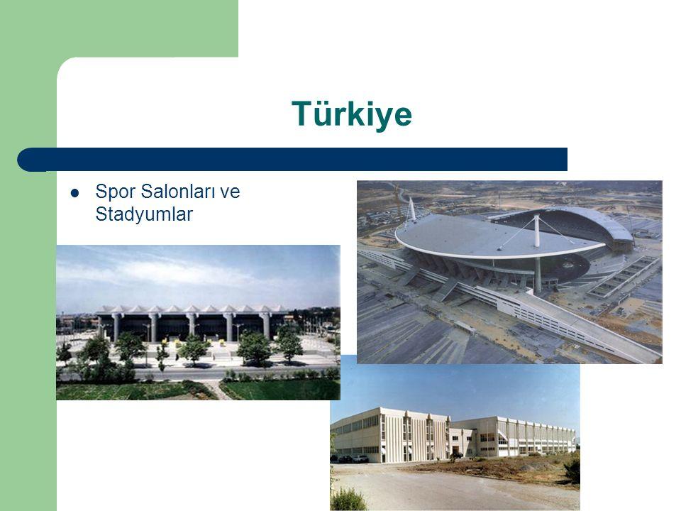 Türkiye Spor Salonları ve Stadyumlar