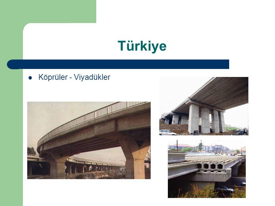 Türkiye Köprüler - Viyadükler