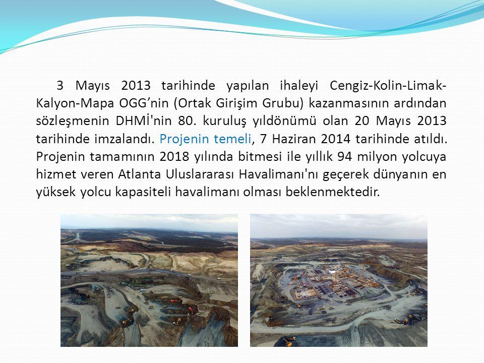 Projenin İnşaat Süreci Havalimanı hakkında yürütülen çalışmalar devam etmektedir.