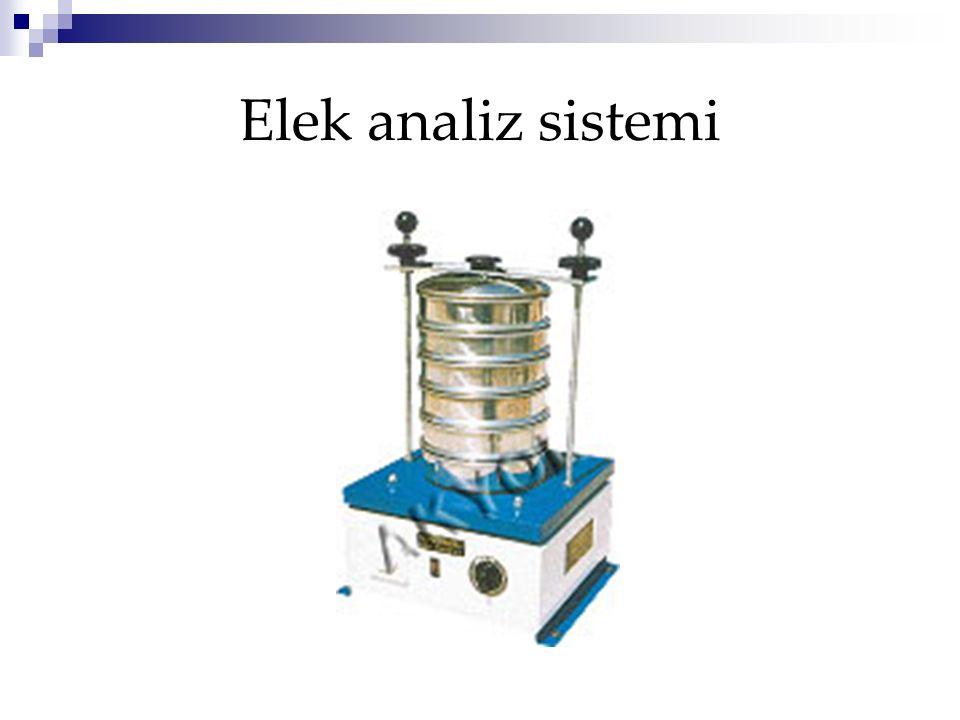 Elek analiz sistemi