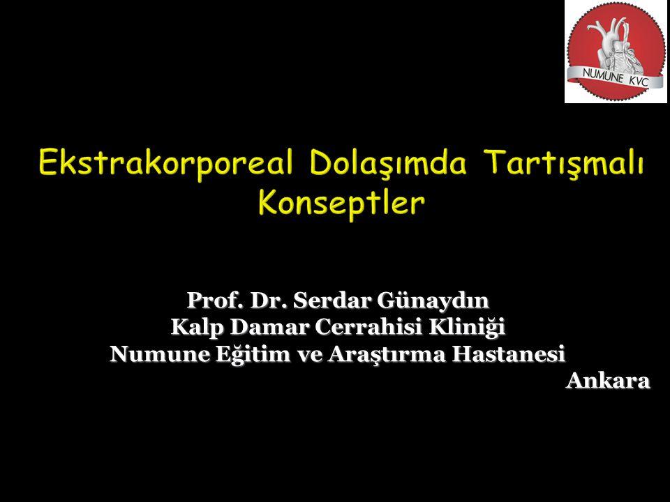 Prof. Dr. Serdar Günaydın Kalp Damar Cerrahisi Kliniği Numune Eğitim ve Araştırma Hastanesi Ankara